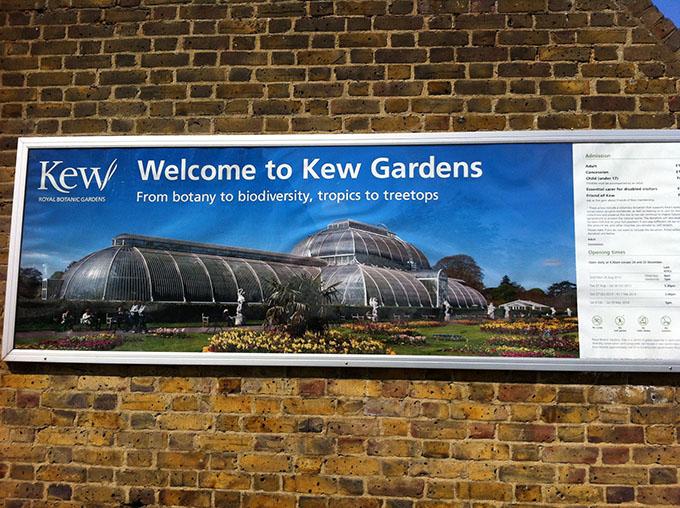 Sehenswürdigkeiten in London: Kew Gardens; London Städtetrip;