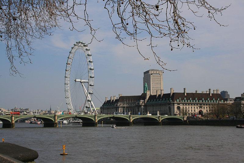 Sehenswürdigkeiten in London: London Eye Riesenrad