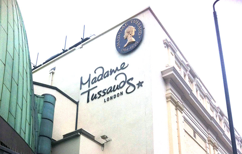 Sehenswürdigkeiten in London: Madame Tussauds; London Städtereise;