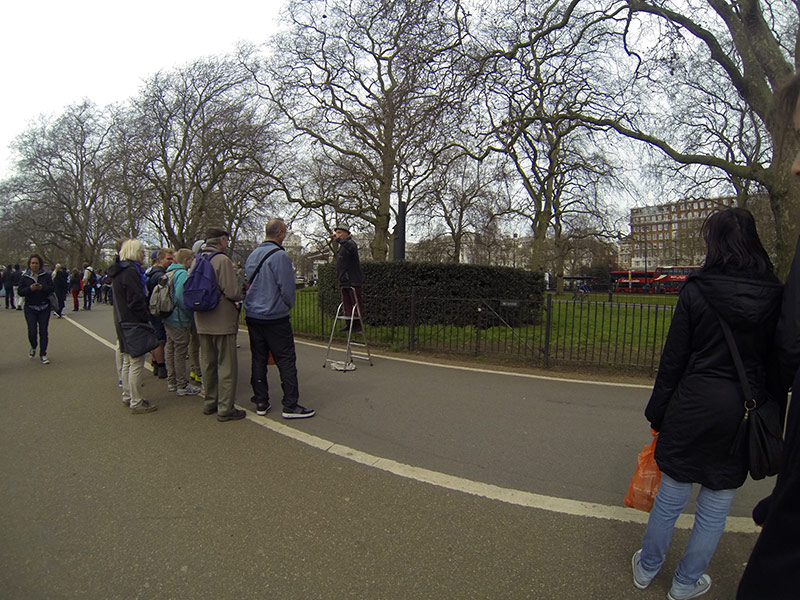 Sehenswürdigkeiten in London: Speakers Corner