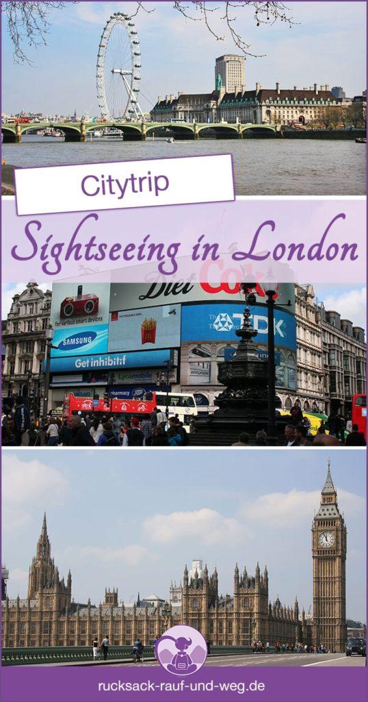 London Sehenswürdigkeiten; London Städtereise;