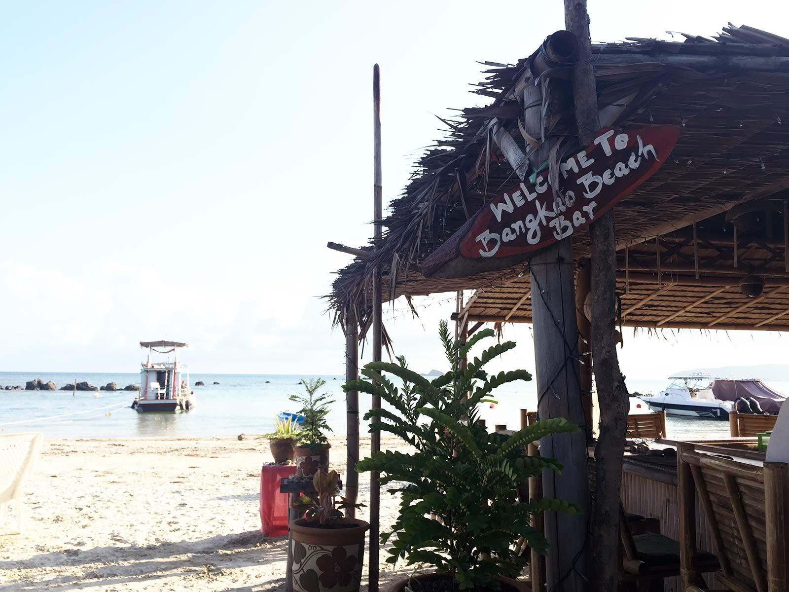 Thailand, Koh Samui, Bangkao Beach Bar