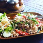 Glass Noodle Salad, Moonhut Bungalows