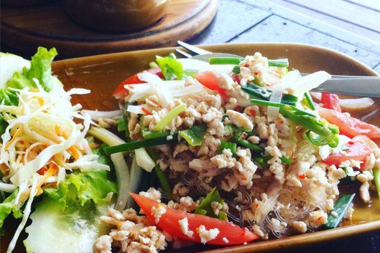 Restaurants auf Koh Samui, Glass Noodle Salad, Moonhut Bungalows