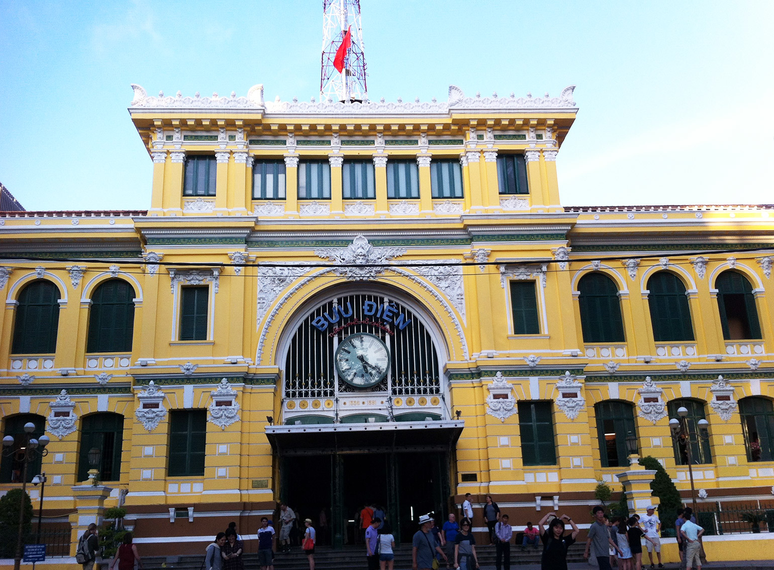 Vietnam, Ho-Chi-Minh, Central Post Office, Reisetipps Vietnam Rundreise;