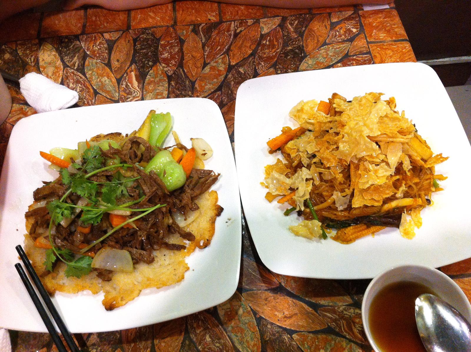 Vietnam, Ho-Chi-Minh, Vegetarisches Restaurant Co'm Chay Mani