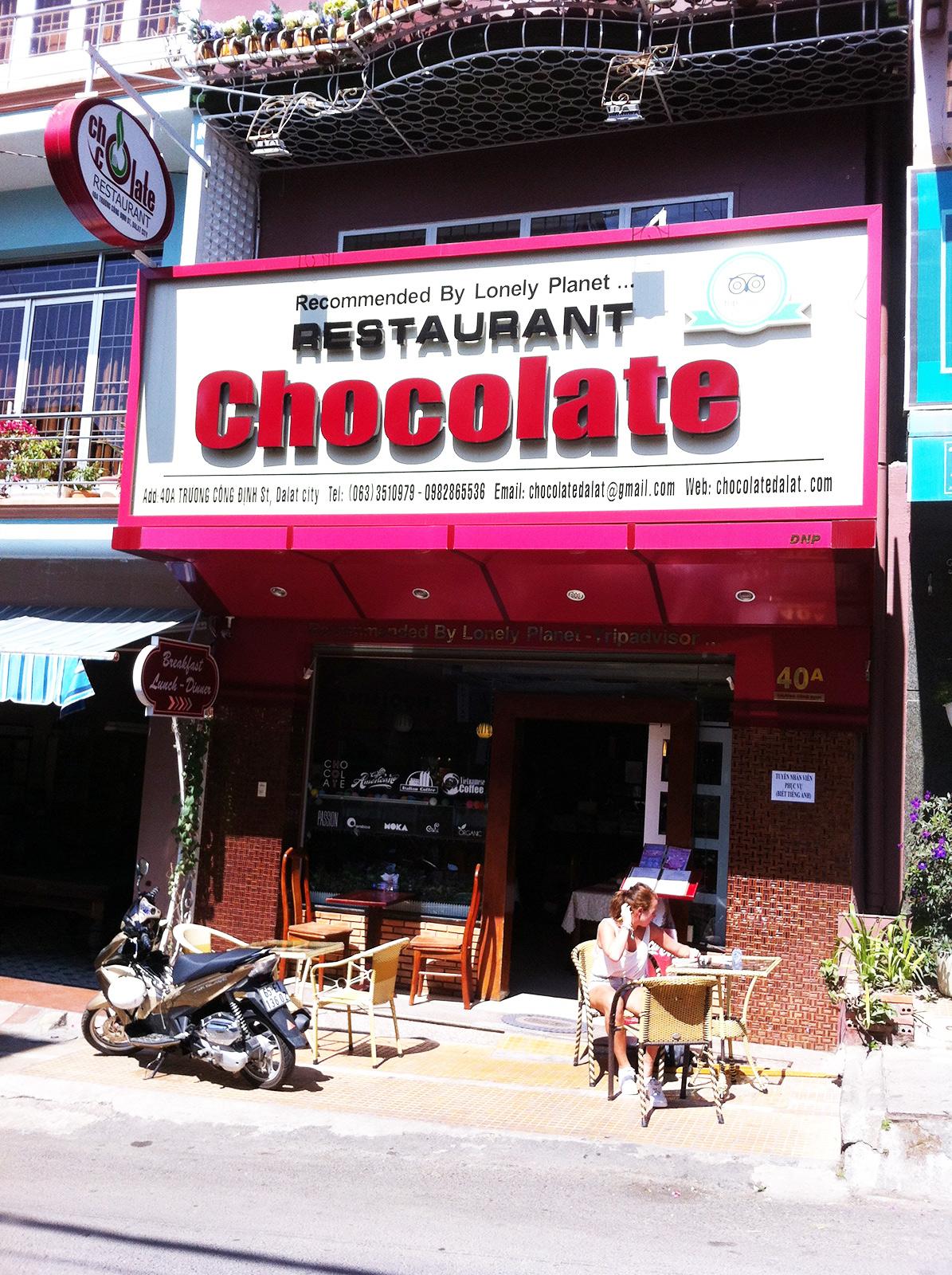 Chocolate Restaurant Da Lat