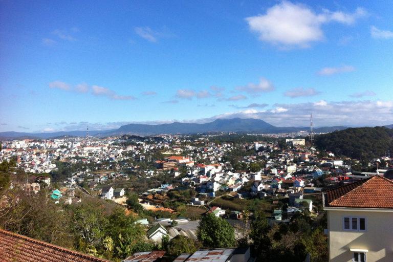 Vietnam, Da Lat City Panorama; Da Lat Sehenswürdigkeiten;