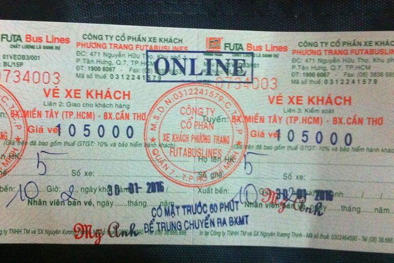 FUTA Bus Ticket