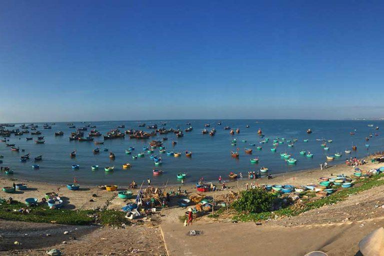 Reisetipps Vietnam Mui Ne, Sehenswürdigkeiten in Mui Ne, Kitsurferparadies, Fisherman's Village