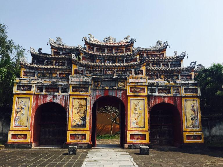 Hue, alte Hauptstadt Vietnams