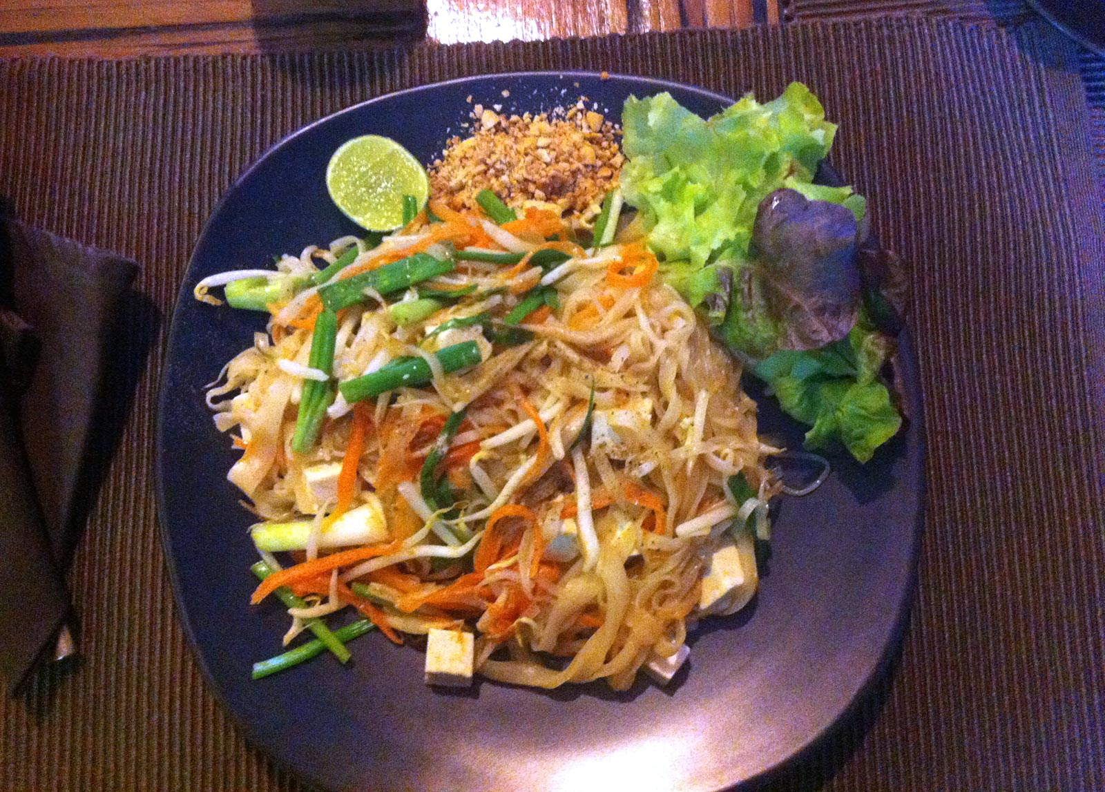 Chiang Mai, Alice's Organic Restaurant; Reisetipps Thailand