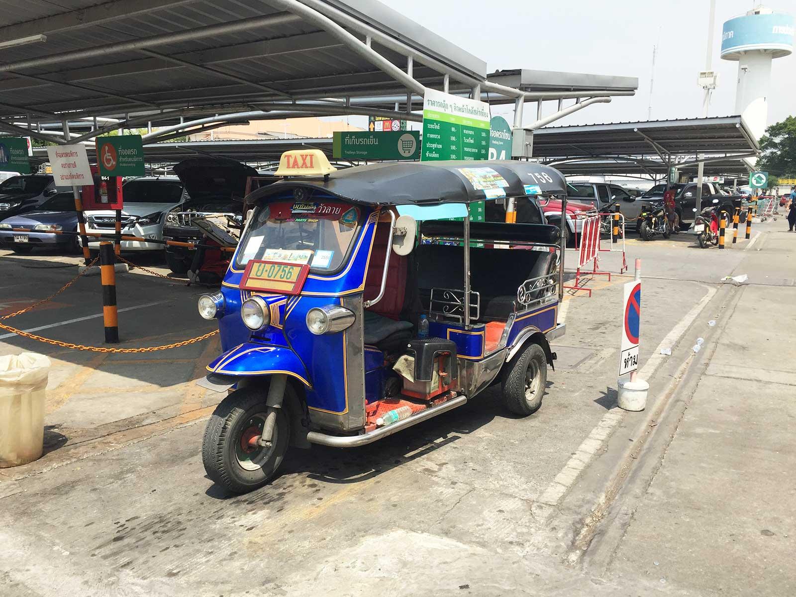 TukTuk: Verkehrsmittel Chiang Mai