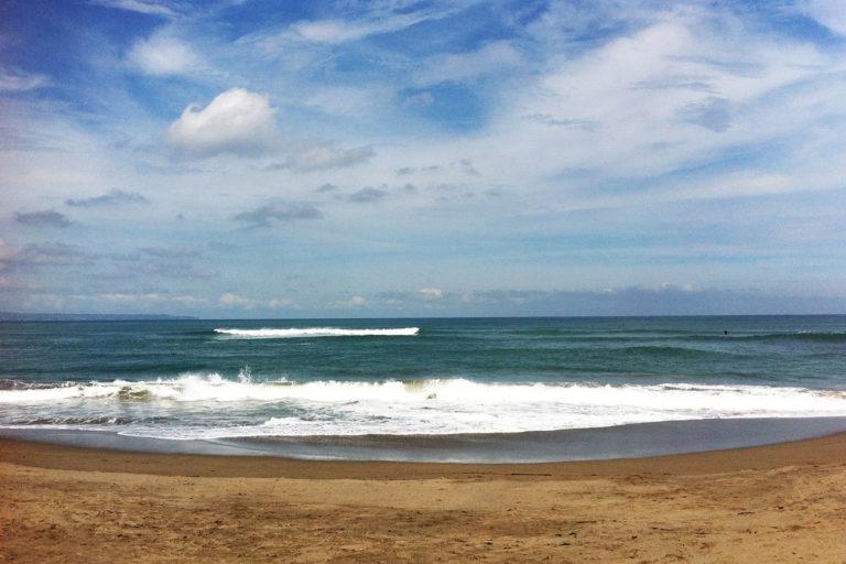 Reisezeit für Bali, Canggu, Meer