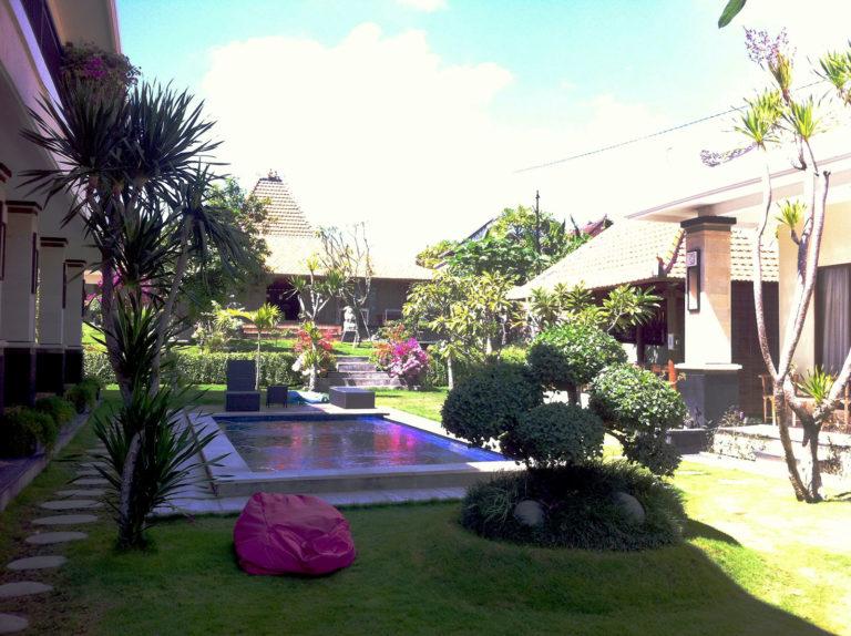 Bali, Canggu, Unterkunft
