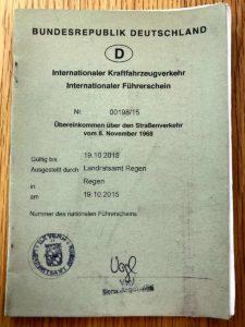 Wichtige Reisedokumente: Internationaler Führerschein