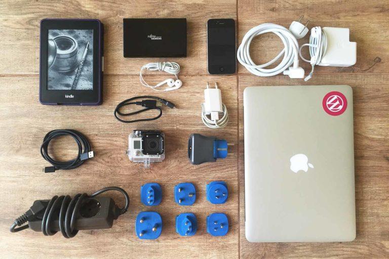 Technik Gadgets für Reisende, elektronik für urlaub
