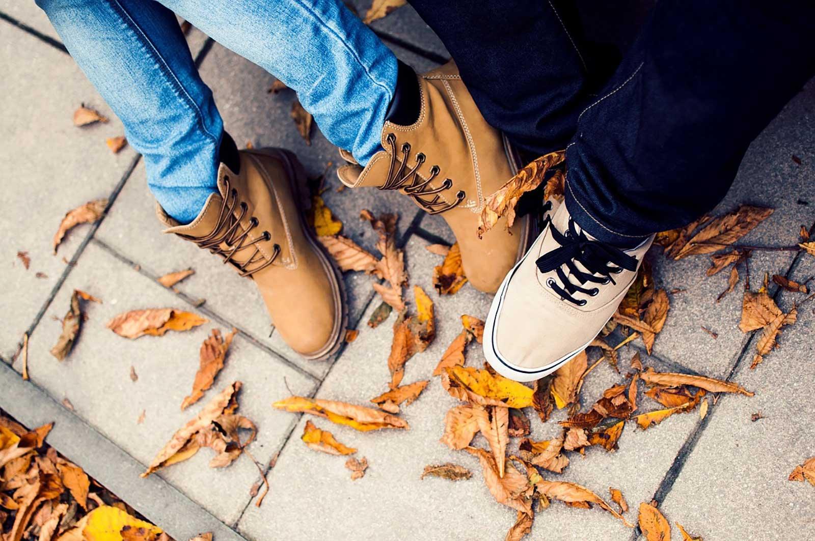geeignete Schuhe für Städtetrips