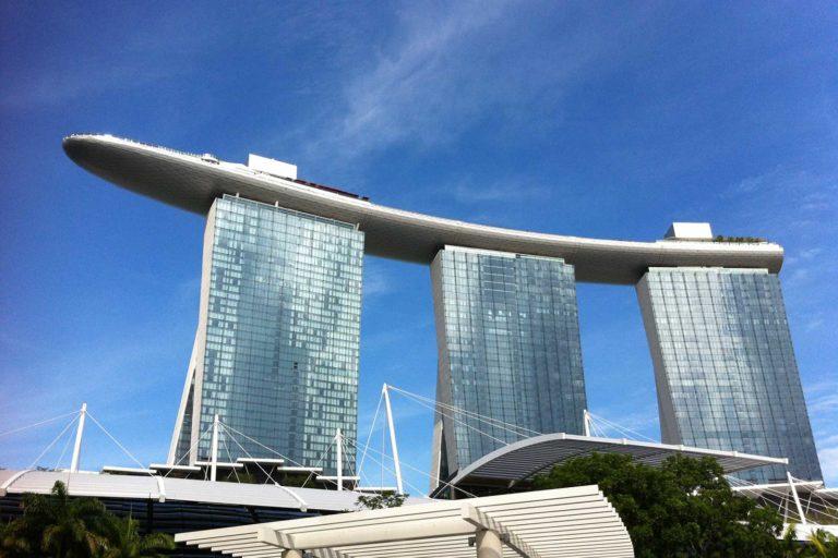 Sehenswürdigkeiten in Singapur, Marina Bay Sands Hotel