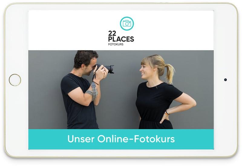 Online Fotokurs von 22places