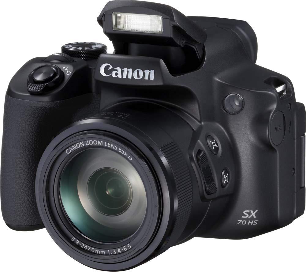 Bridgekamera Vergleich: Canon PowerShot SX70 HS