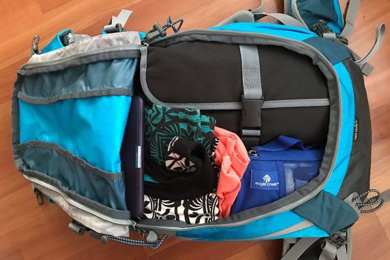 Rucksack richtig packen