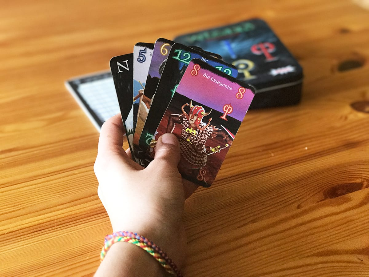 Kartenspiel Reise
