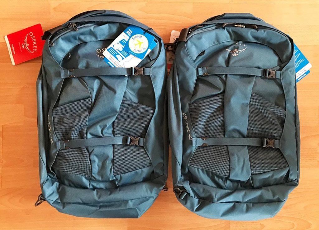 Reiserucksack: Osprey Farpoint 40 S/M oder M/L?
