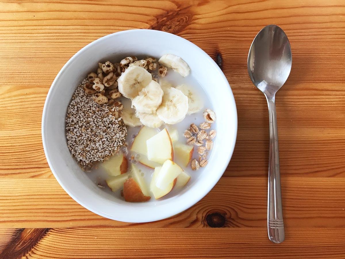 Backpacker Rezepte Frühstück; Müsli