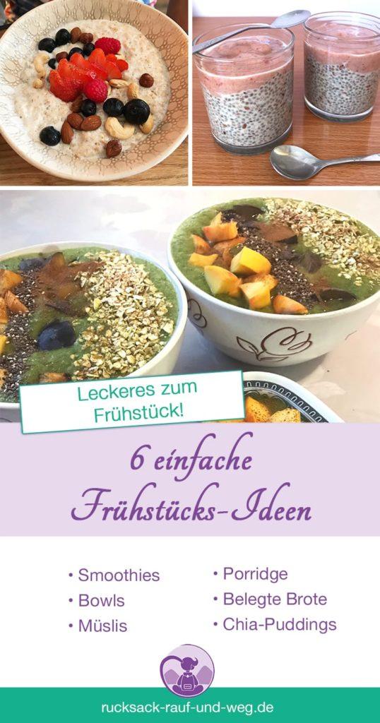 Backpacker Rezepte Frühstück; Frühstücks Ideen Urlaub;