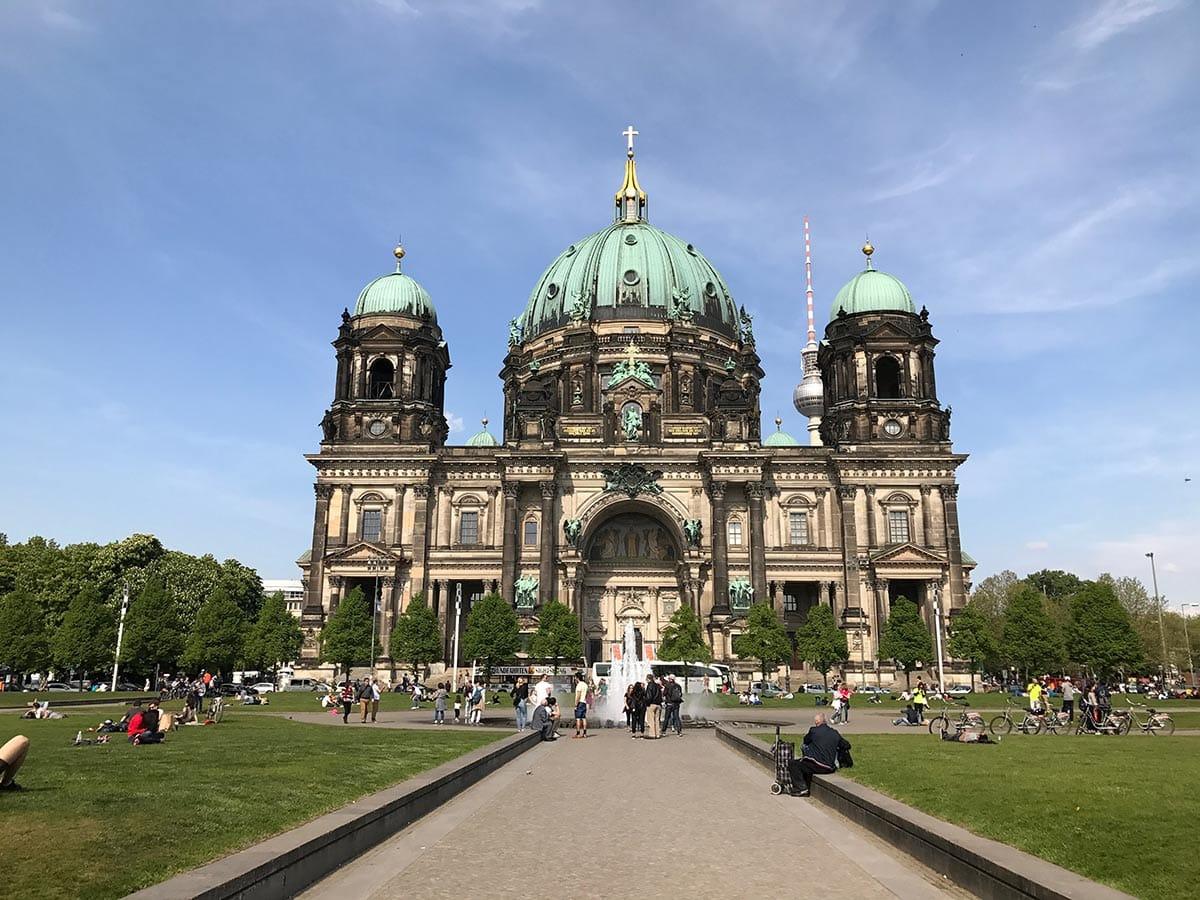 Berliner Dom und Lustgarten