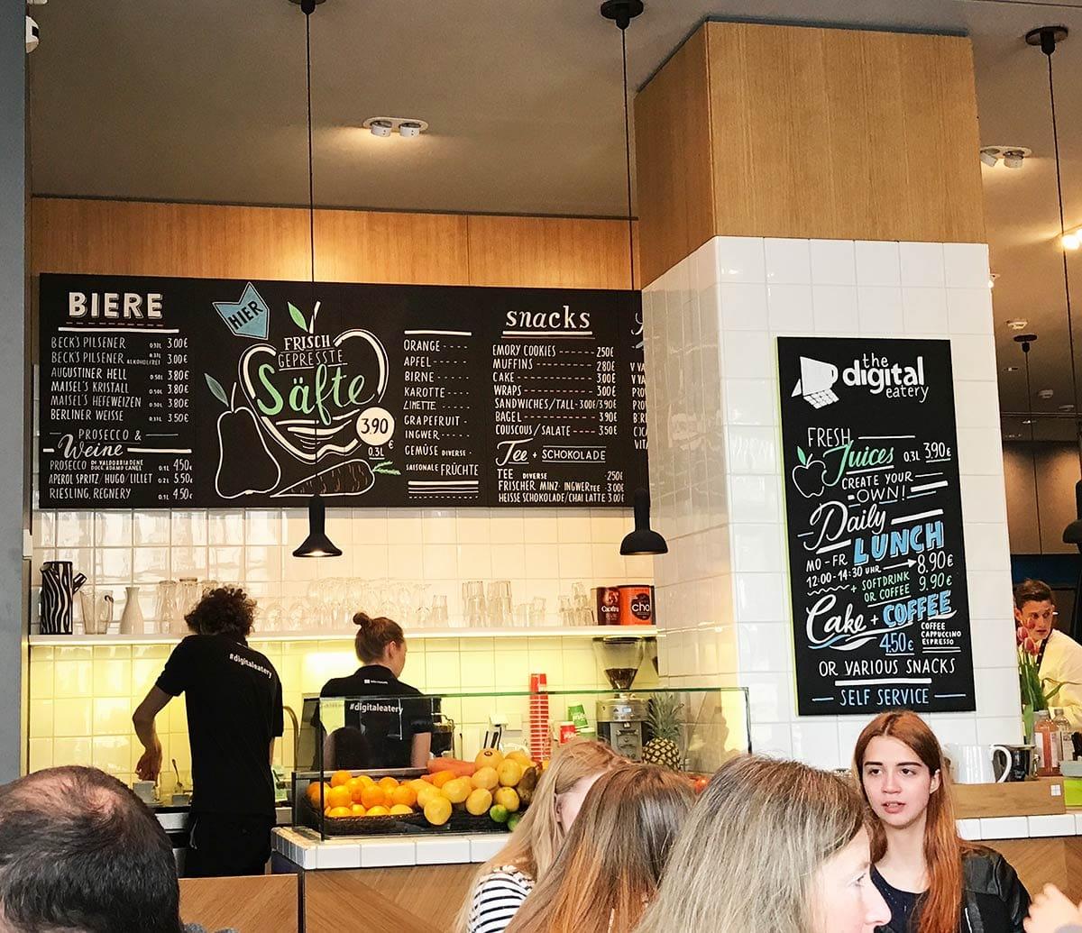 CoWorking Berlin: Digital Eatery