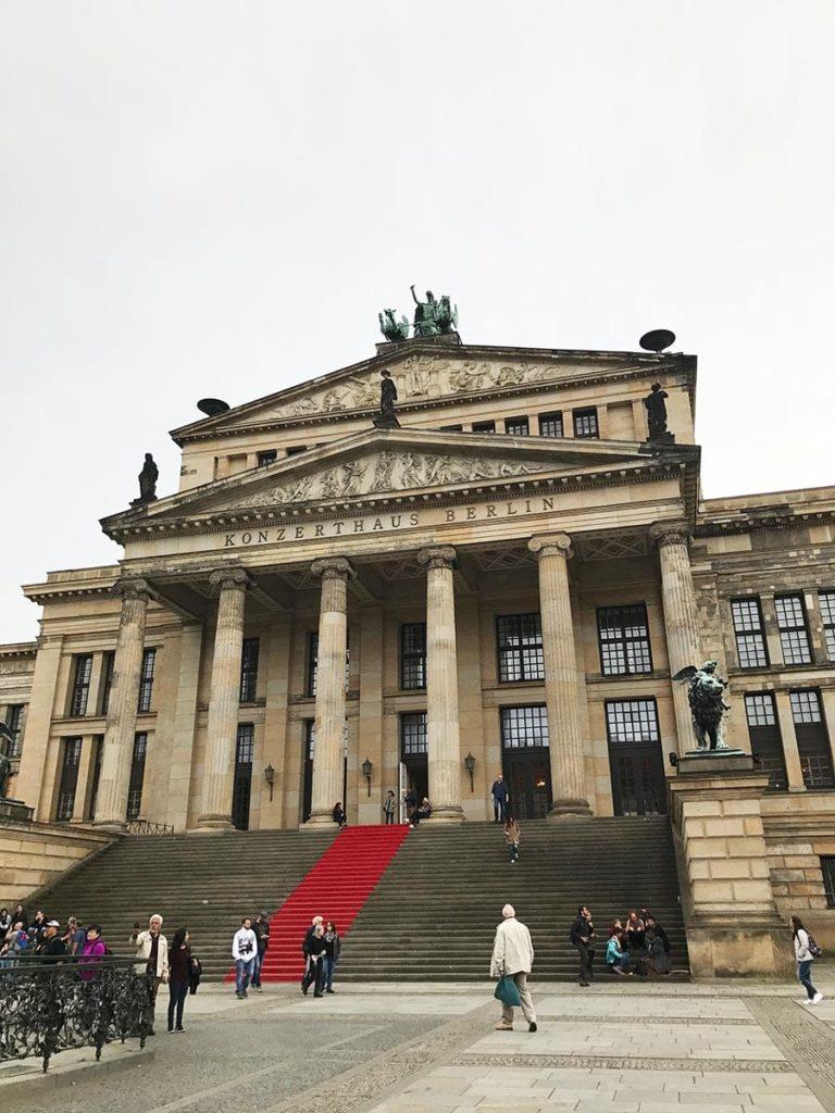Städtetrip Berlin: Berliner Konzerthaus, Gendarmenmarkt
