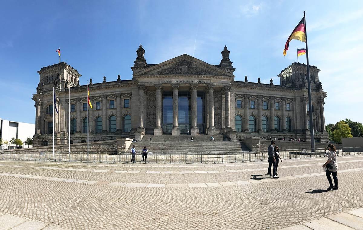 Städtereise Berlin: Reichstaggebäude