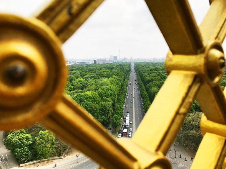Städtereise Berlin; Blick von Siegessäule