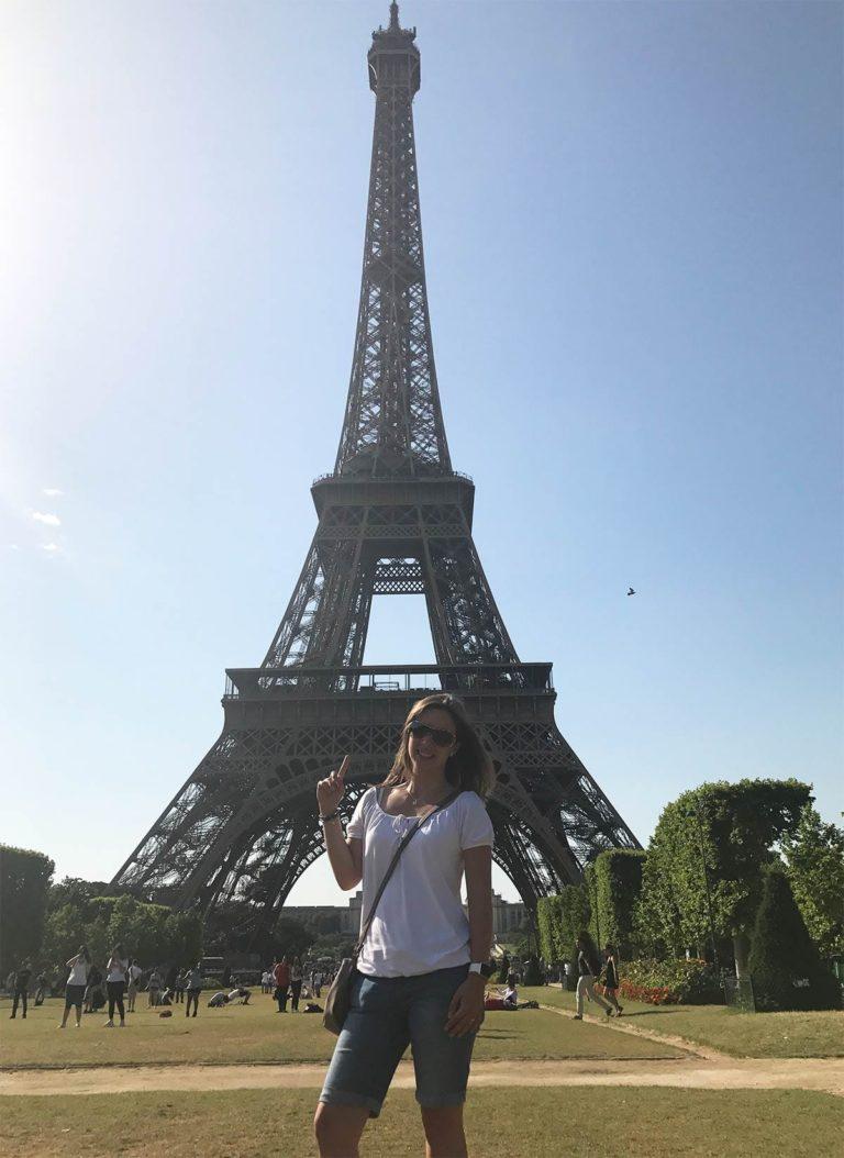 Staedtereise nach Paris: Eiffelturm