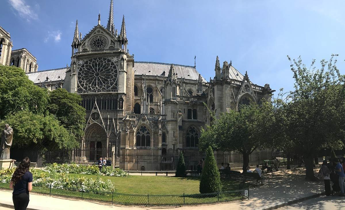 Staedtereise nach Paris: Nottre Dame