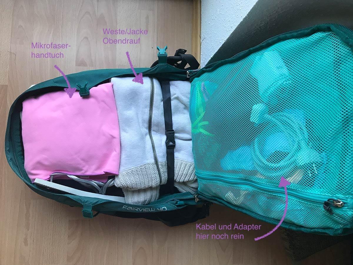 Osprey Fairview 40 Frauenrucksack Handgepäck