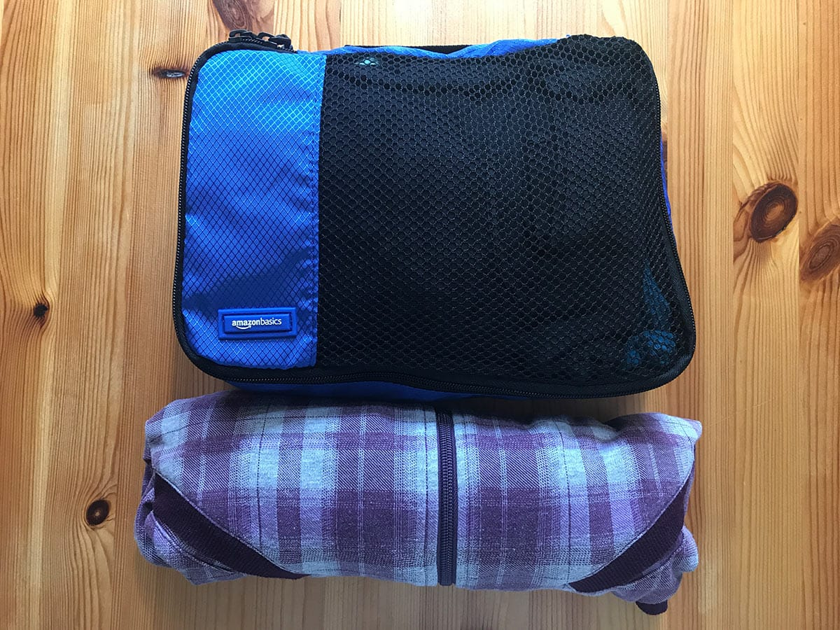 Die beste Packtechnik: Packing Cubes