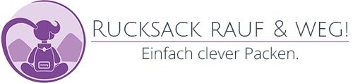 Rucksack rauf & weg