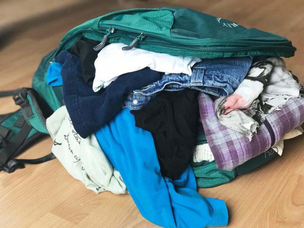 Handgepäck Rucksäcke im Test; Die beste Packtechnik;