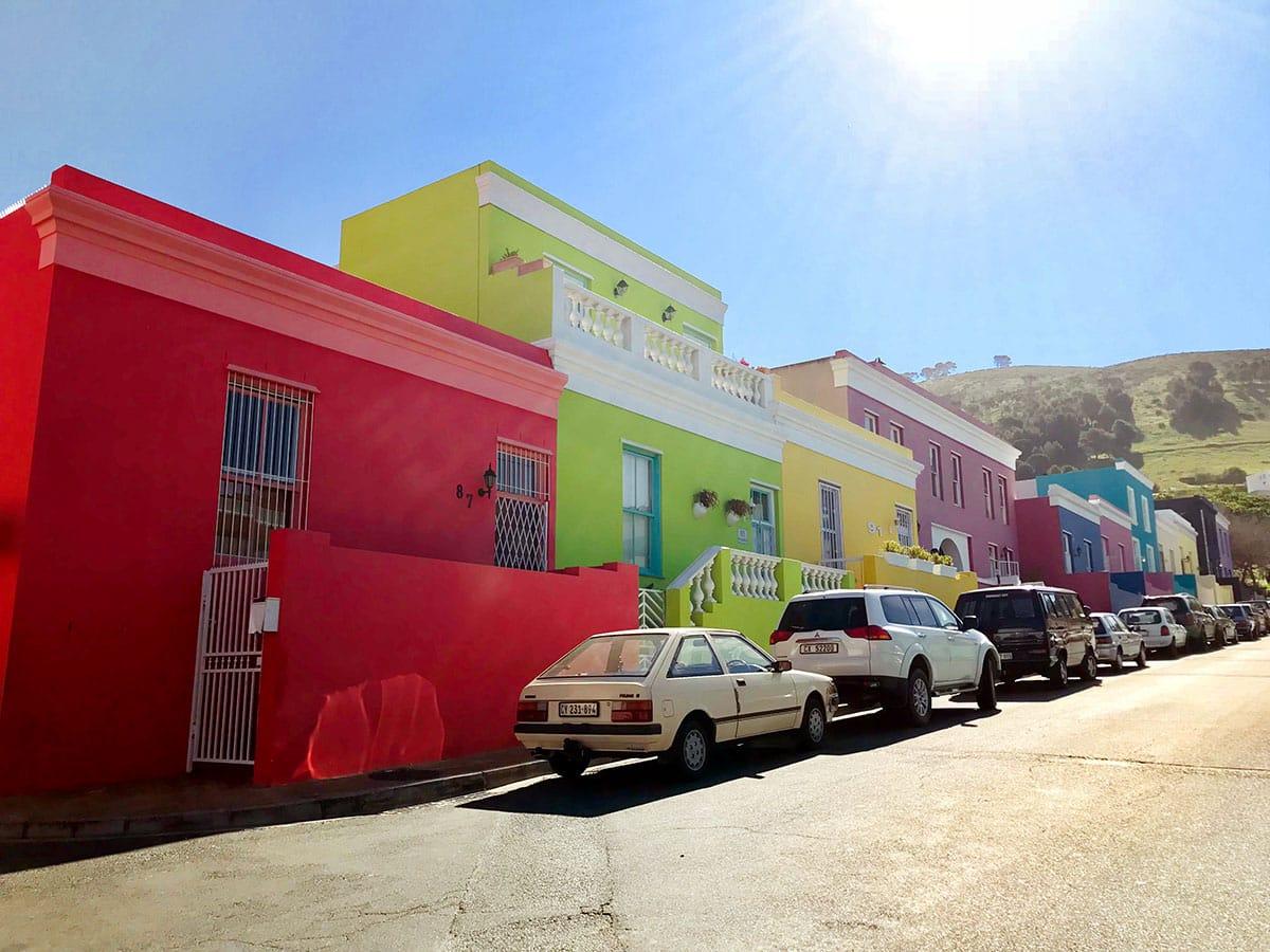 Urlaub in Kapstadt: Sehenswürdigkeiten Bo Kaap Viertel