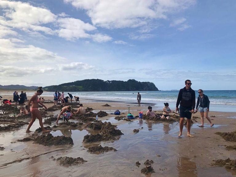 Hot Water Beach; Roadtrip durch Neuseelands Nordinsel; Neuseeland Rundreise; Roadtrip Neuseeland Route