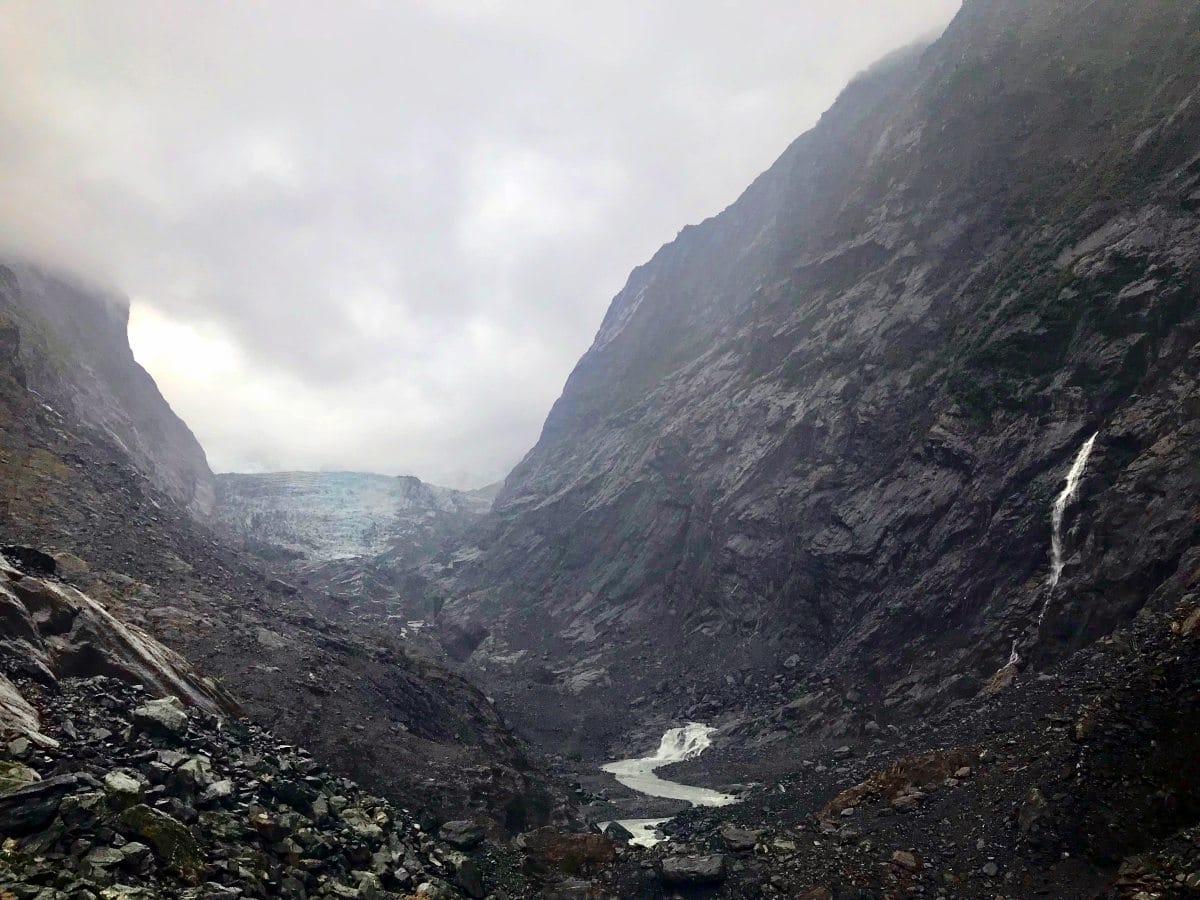 Roadtrip Neuseeland Südinsel: Franz Josef Gletscher
