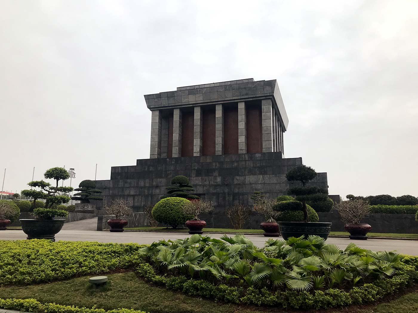 Sehenswürdigkeiten Hanoi Ho Chi Minh Mausoleum