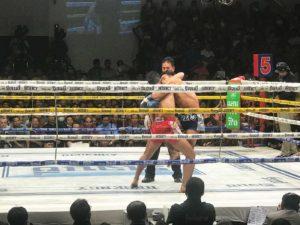 Reisebericht Bangkok: Muay Thai Boxkampf