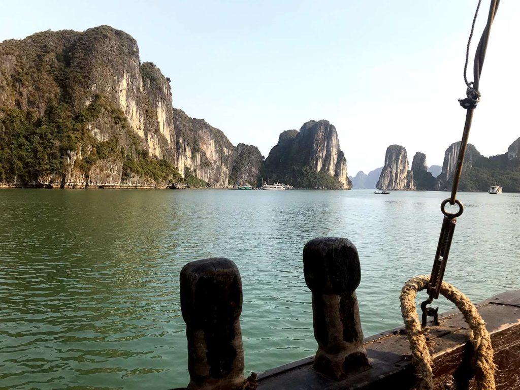 Sehenswürdigkeiten Hanoi Halong Bucht
