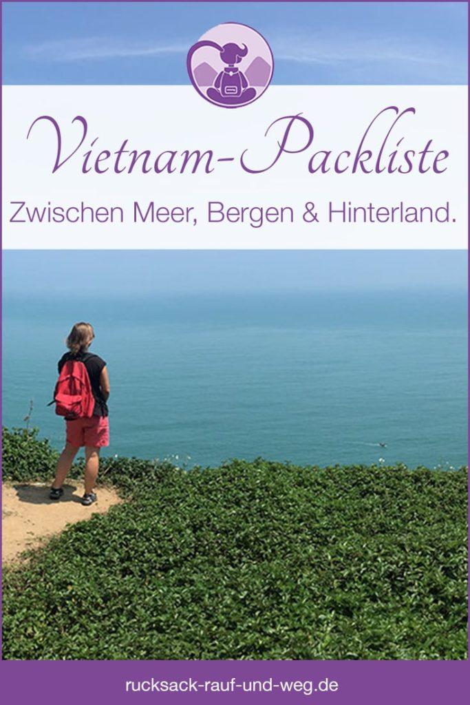 Packliste für Vietnam;