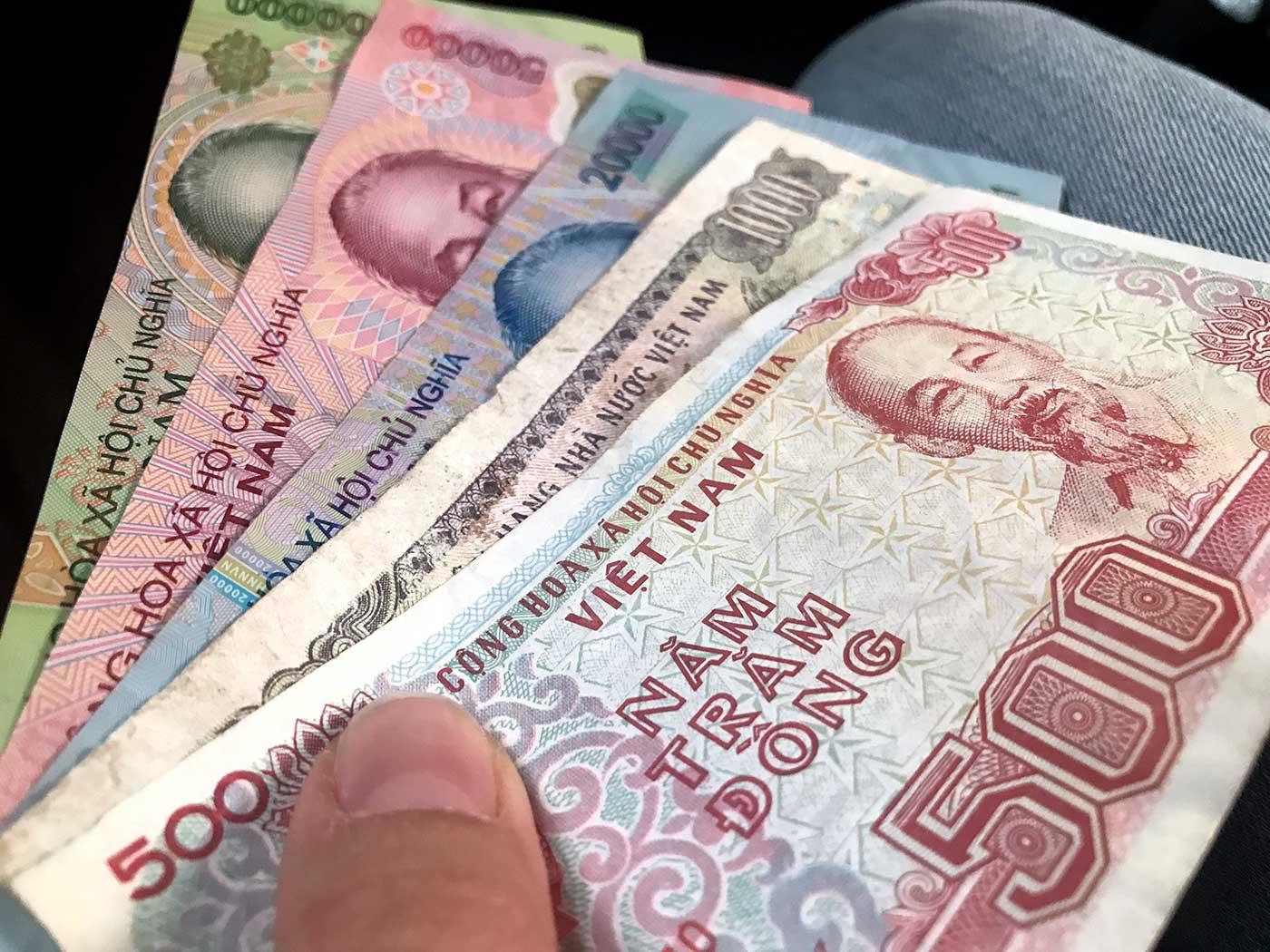 Vietnam Reisetipps: Währung & Geld