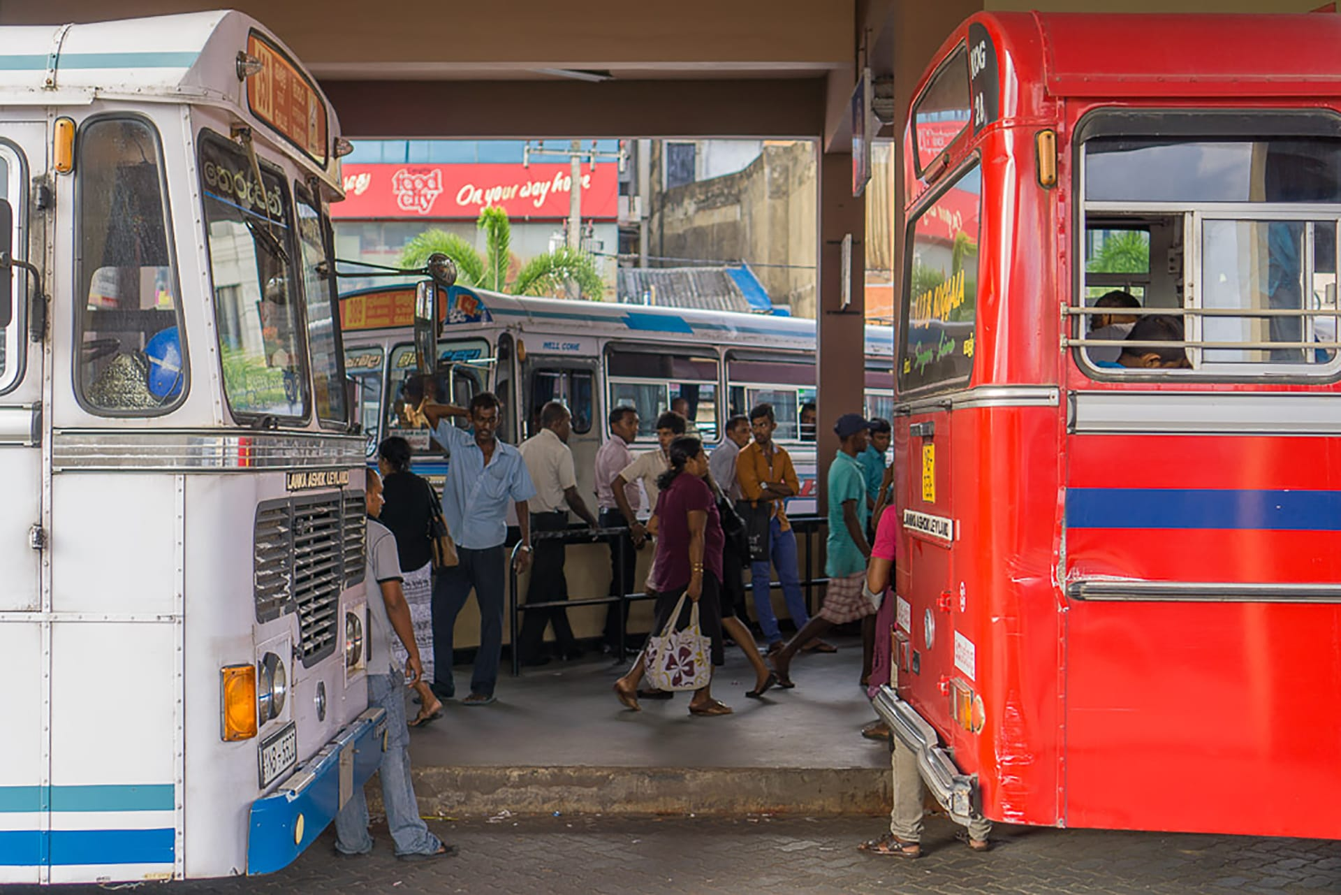 Reisebericht Galle Sri Lanka: Bus fahren